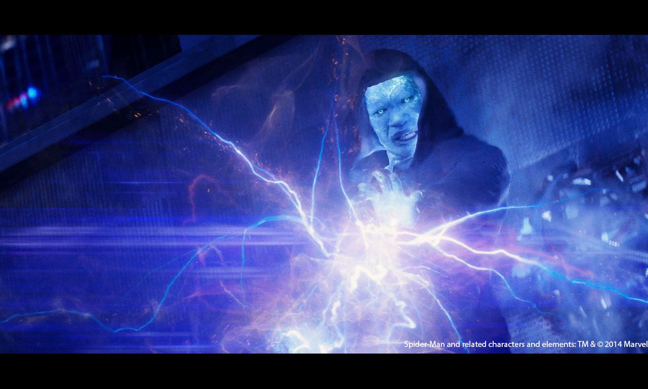 Electro In Amazing Spiderman 2 HD Wallpaper