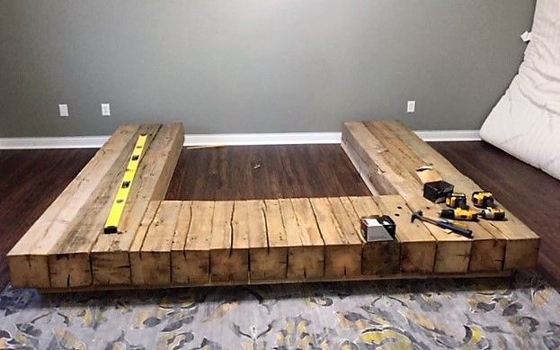 Photo of The Epic Barn Beam Bed Frame! — APS Design