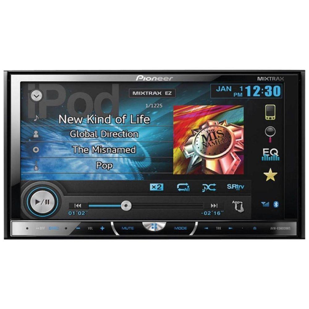 Pioneer Avh X5700bhs 2 Din In Dash Dvd Receiver W 7 Display Bluetooth Wireless Connectivity Usb Conne Pioneer Car Audio Hd Radio Car Audio Systems
