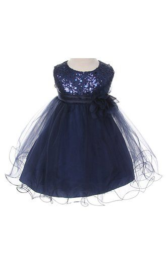 0756dc1785 Navy Flowergirl Dress for sale on Trade Me