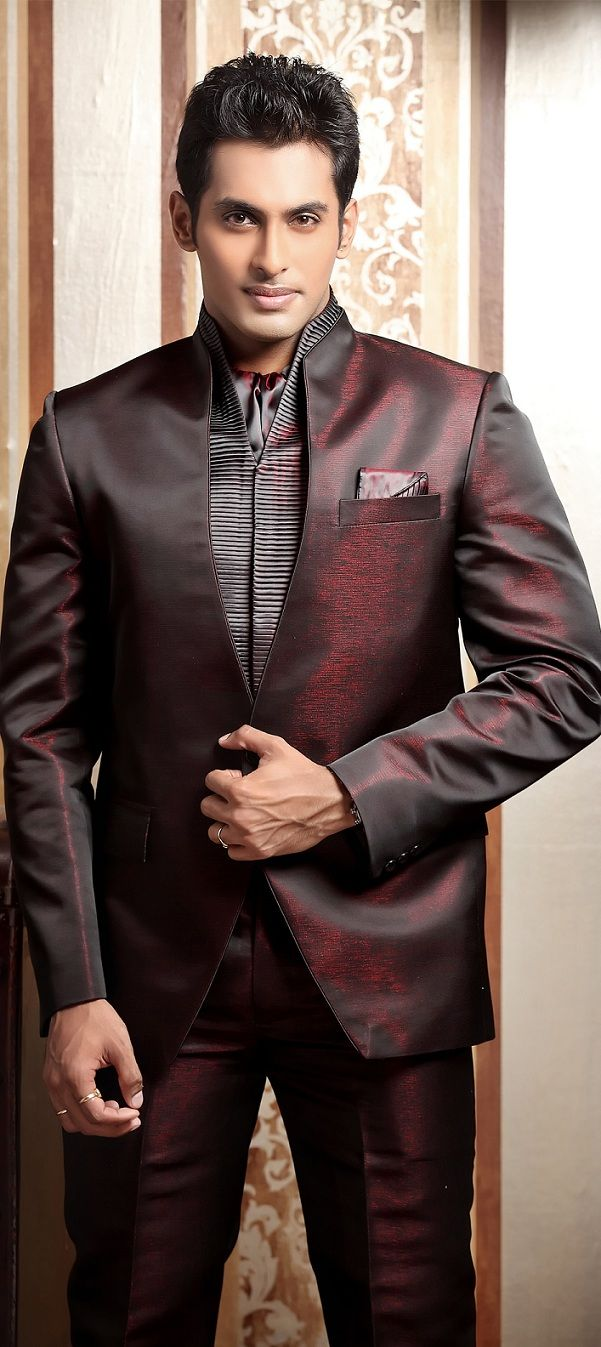 suits-for-indian-wedding.jpg (601×1347) | Receiption | Pinterest