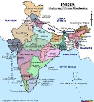 Pin By Madhava Raju On Madhav India Map States Of India Map