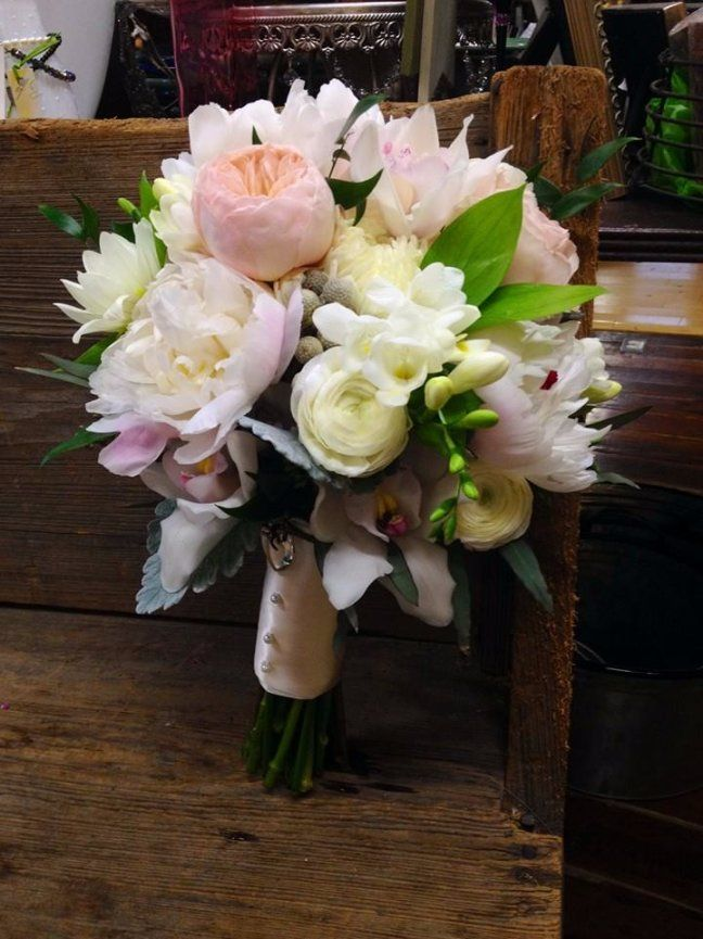 Pink Peonies White Ranunculus Bridal Bouquets By Nola Flora New Orleans Wedding Florist Www Nolaflora