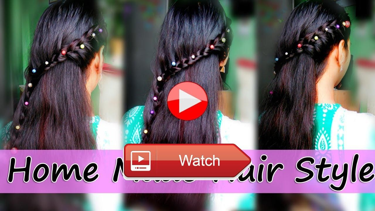 Beautiful hairstyles for long hair for women at home made publish on