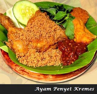 Resep Ayam Penyet Resep Ayam Makan Malam Resep Masakan