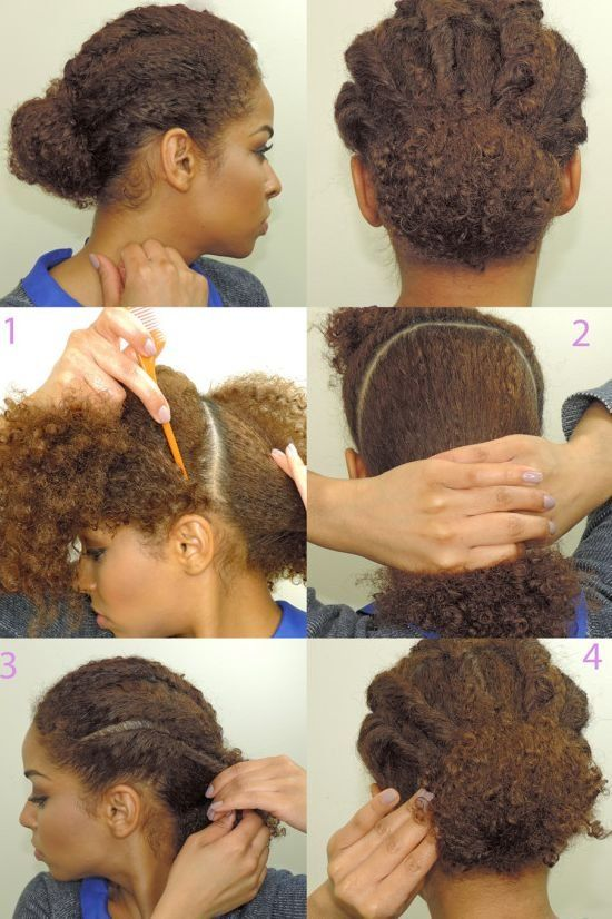 30 quick and easy five minute hairstyles for every hair ...