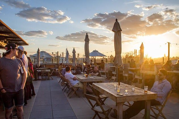 Rooftop Patio Brooklyn in 2020 (With images) | Best ...