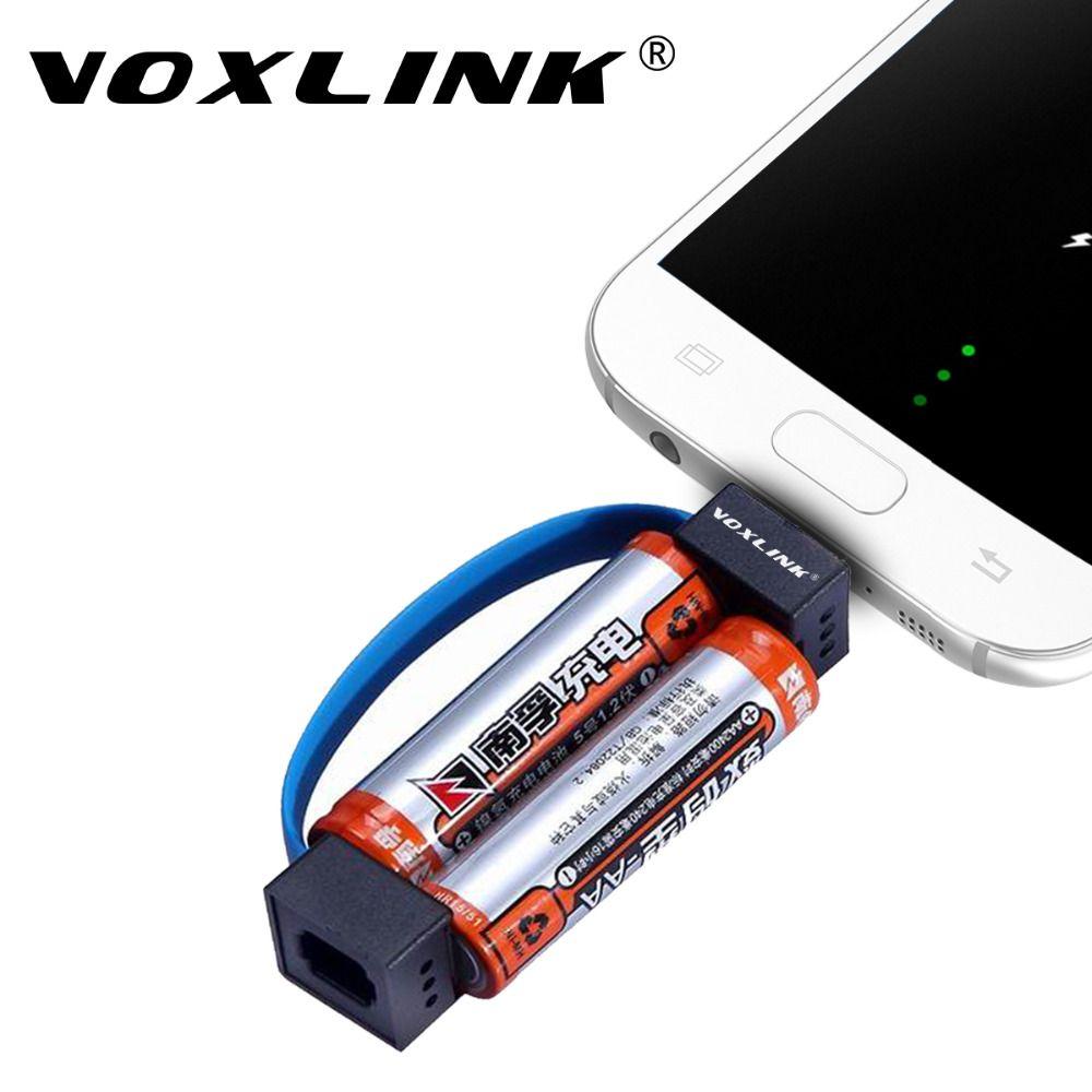 Voxlink Mini Portativnyj Magnitnaya Micro Usb Zaryadnoe Ustrojstvo Kabel Avarijnogo 2 Aa Batareya Moshnost Zaryadnoe Ustroj Usb Chargers Micro Usb Samsung Picture