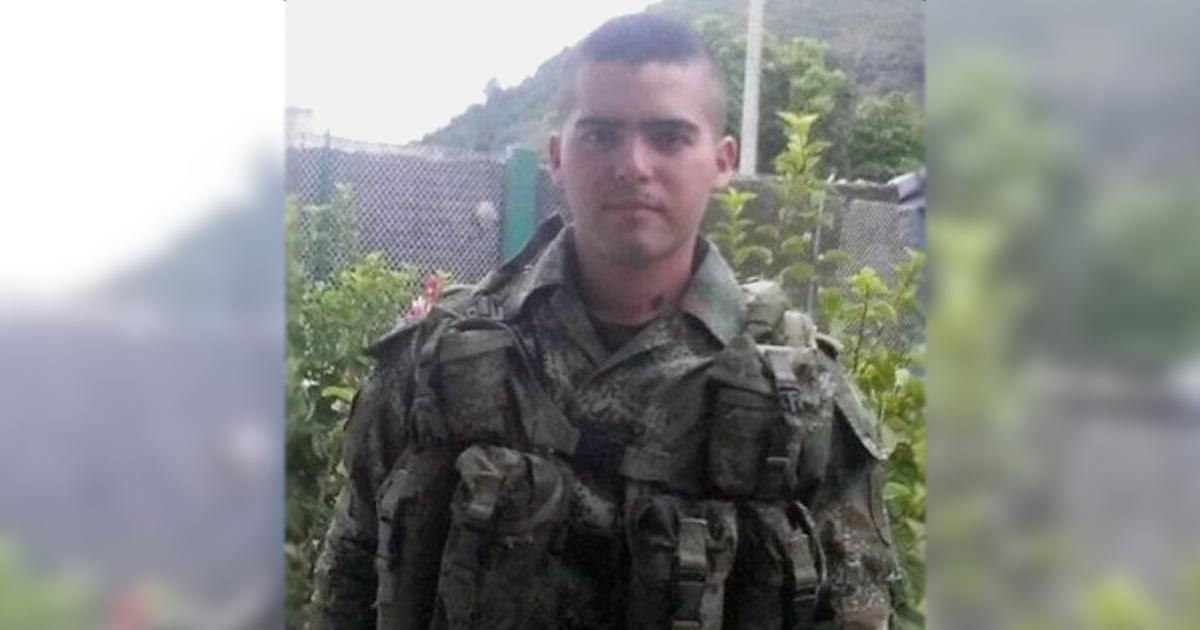 Andrés Felipe Franco Ocampo, soldado profesional, fue asesinado este fin de semana por guerrilleros del ELN en Samaniego, Nariño.