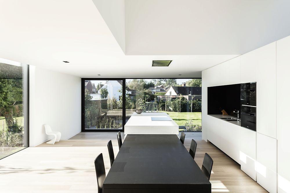 Moderne Keukens Gent : Francisca hautekeete architect gent dw heusden huis