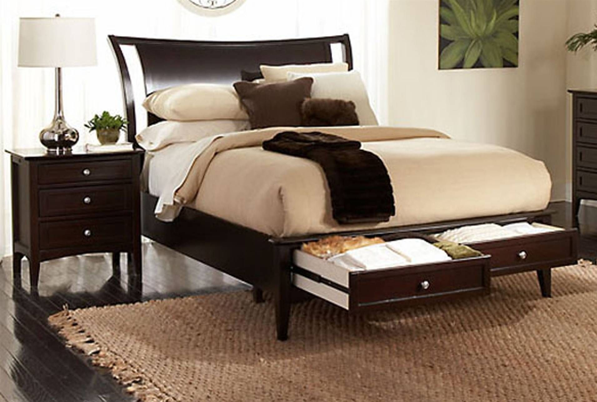 Lombard Eastern King Storage Bed Living Spaces