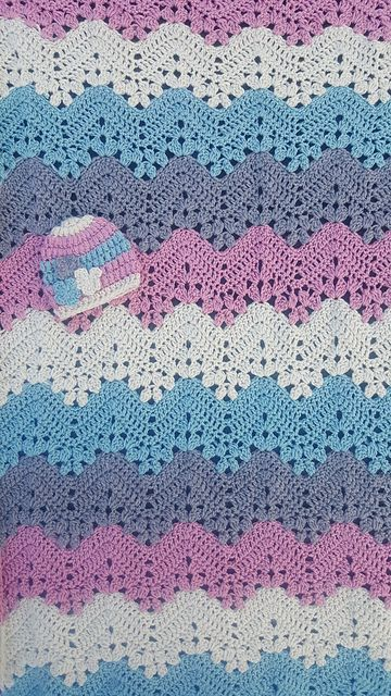 6 Day Kid Blanket Free Pdf Pattern Read More Crochet Afghans
