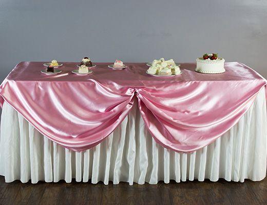 Scalloped Table Skirting Diy Tutorial Table Skirt Diy Table