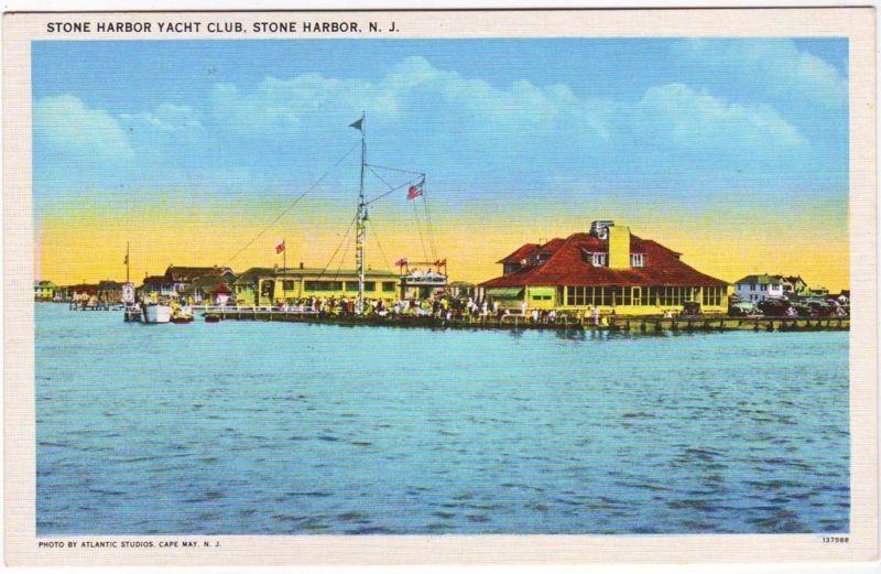 Stone Harbor Yacht Club on the bay.