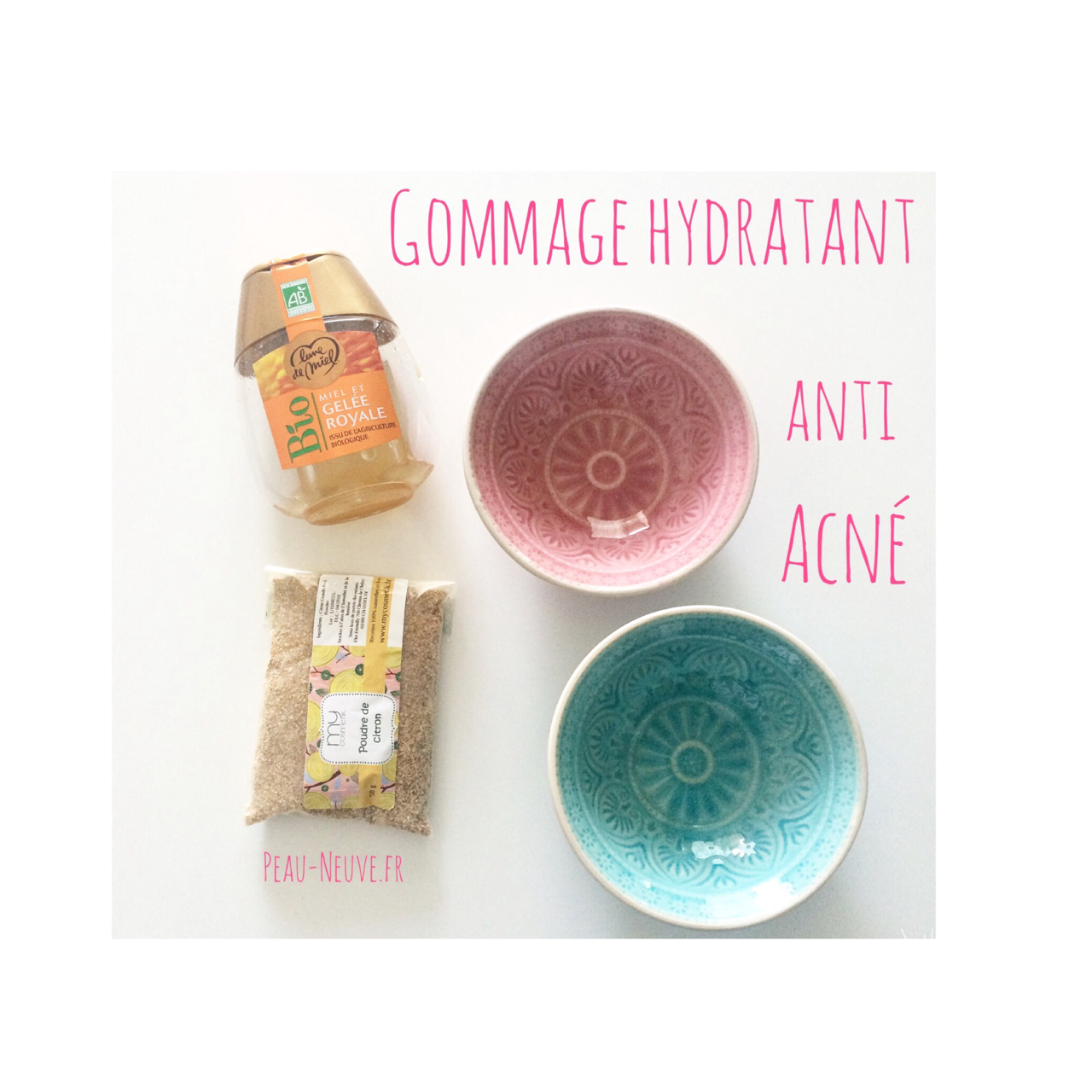 Gommage hydratant anti acn beauty head body beauty et cosmetics - Gommage visage maison peau grasse ...