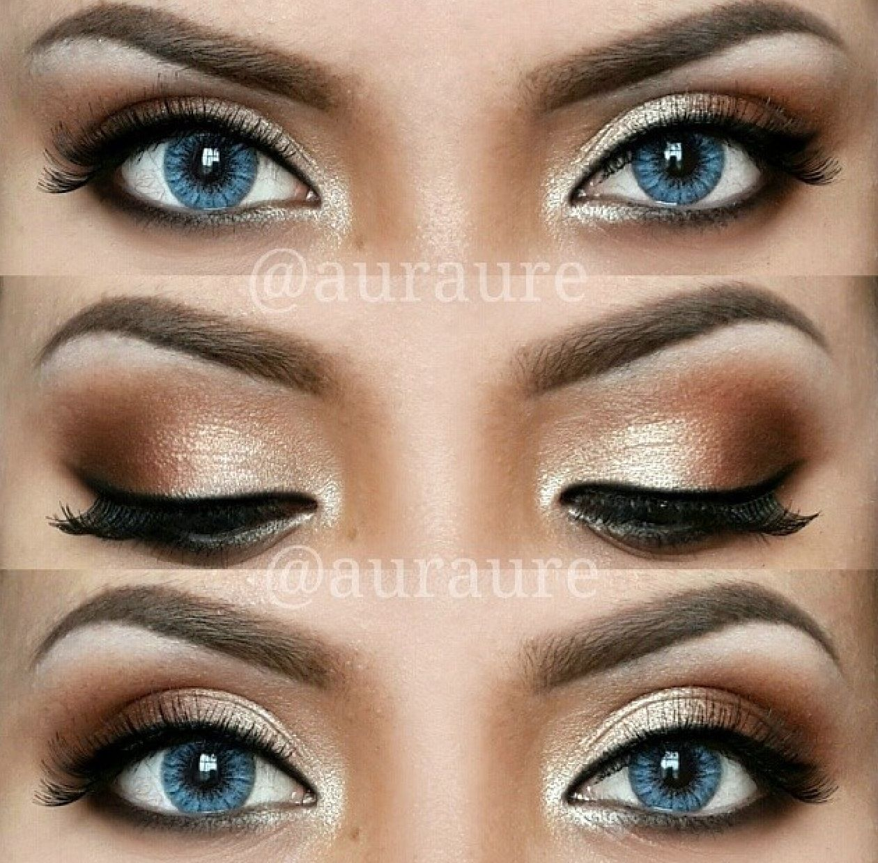 Simple Pretty Eye Makeup For Blue Eyes Makeupgenk