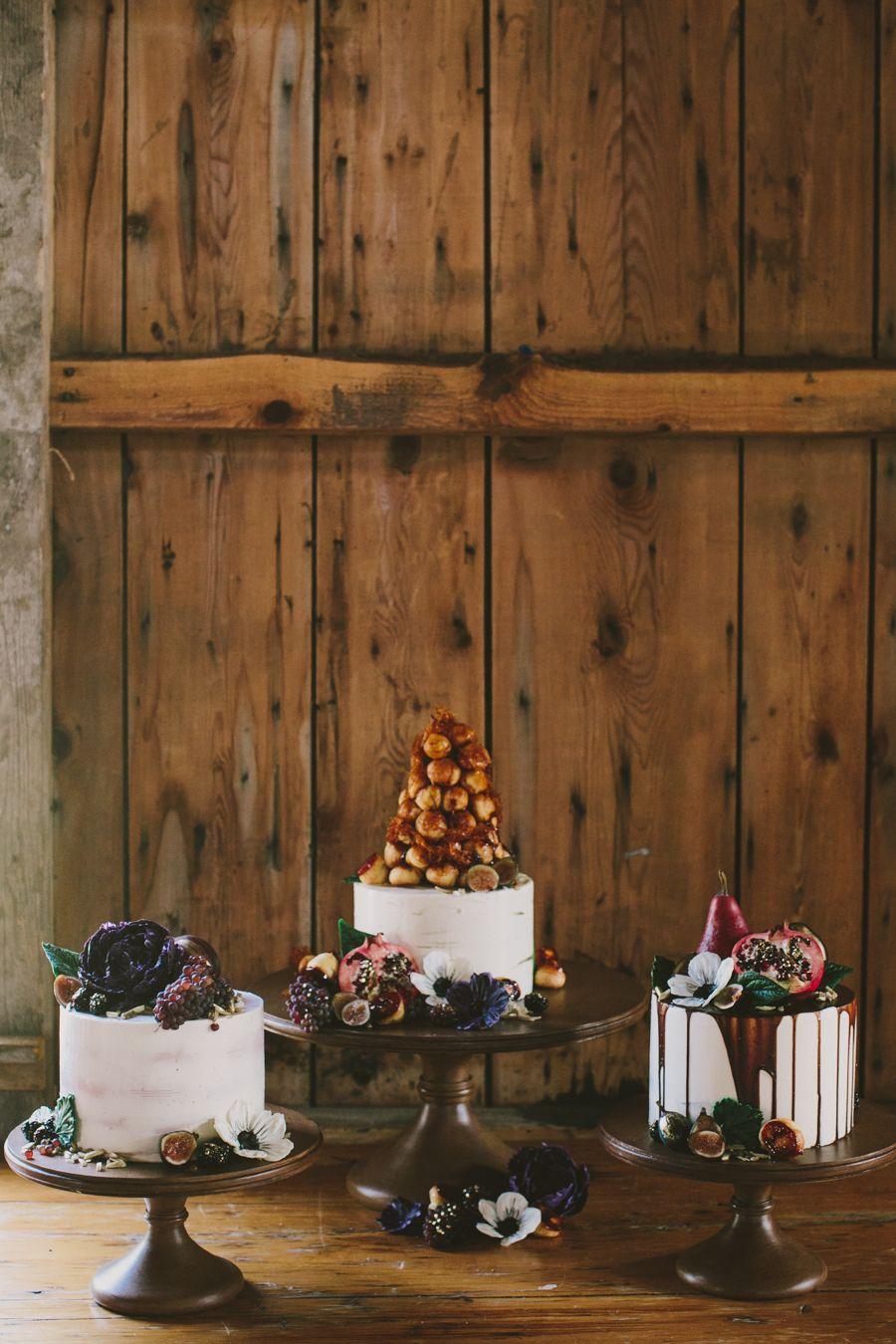 Elegant Autumn Barn Wedding in Maine