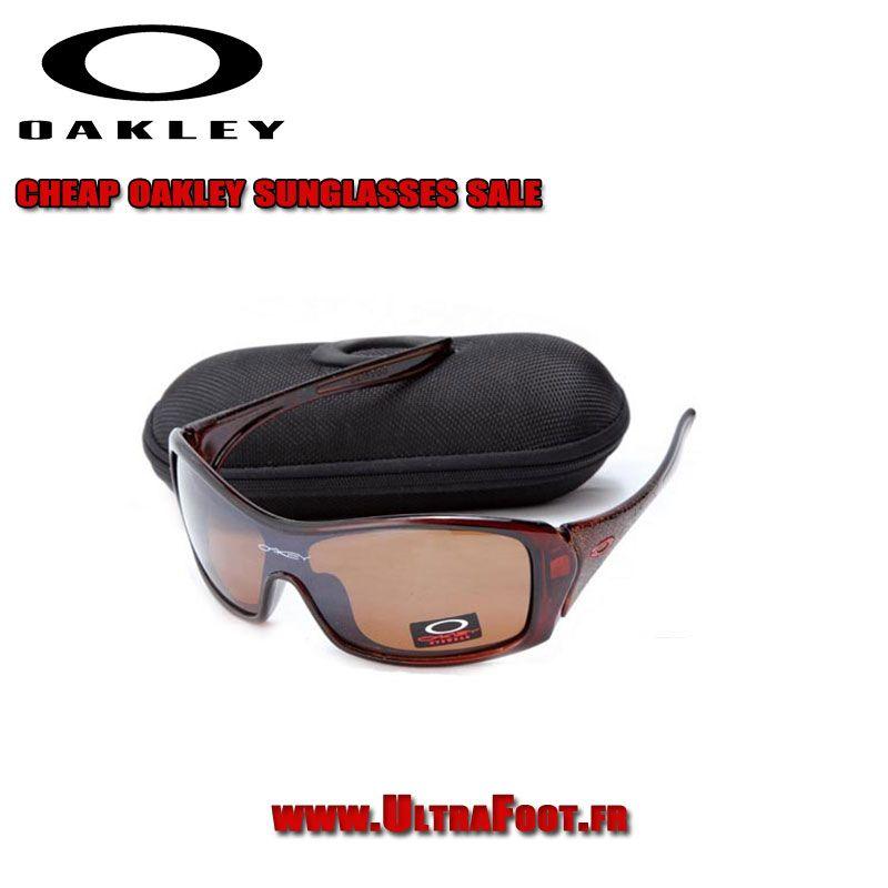 Oakley Forsake Femme Clear Brun Frame Brun Lens bon marché OFWK1801 ...
