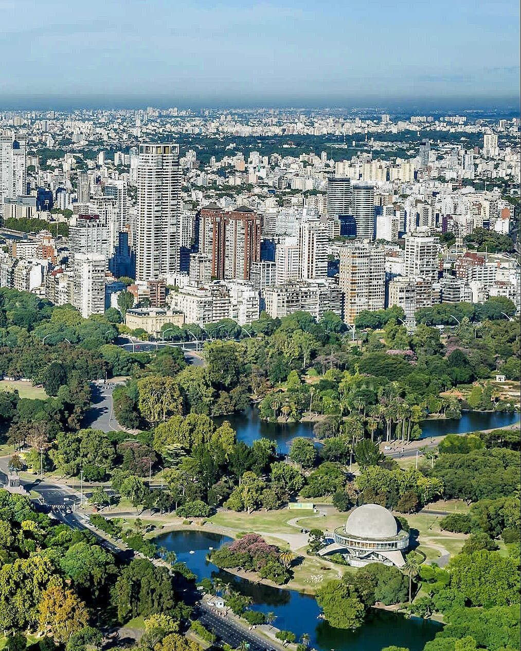 Buenos Aires Panorámica στο Instagram Sector Denominado Los Bosques De Palermo Vista Aérea Argentina Argentine Bea Paris Skyline Skyline Photo