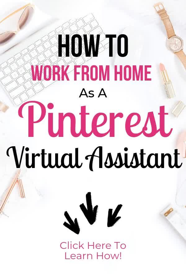 Are you ready to make the leap to work from home and start your own small business, but you're not really sure where to start? This Pinterest Virtual Assistant course will teach you everything you need to know to start up your Pinterest VA business, and start making money from home! Click here to learn more! #PinterestMarketing #PinterestVirtualAssistant #PinningPro #SideHustle #MakeMoneyOnline #WorkFromHome