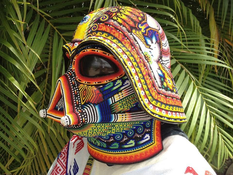 La Historia Detrs Del Casco De Darth Vader Huichol Favorite Art