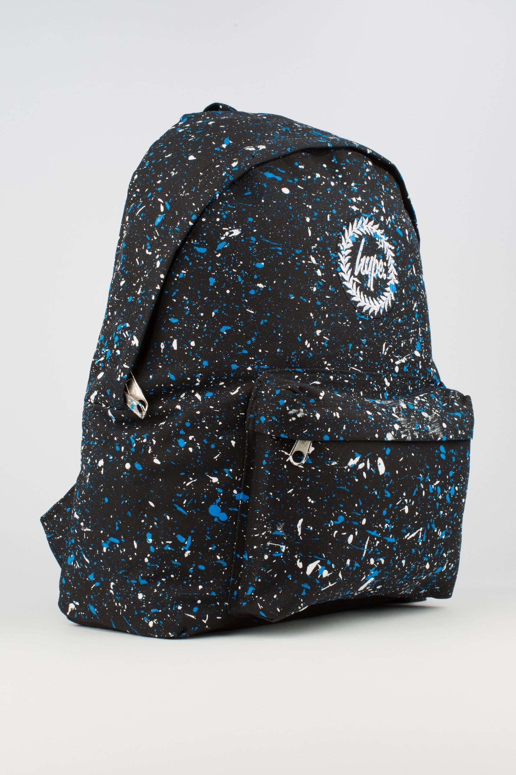 HYPE BLACK WITH BLUE   WHITE SPECKLE BACKPACK - HYPE®  700f513dbc53e