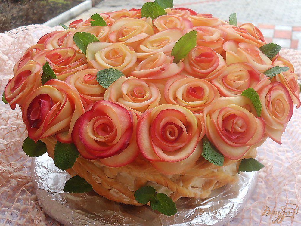 Торт Букет для женщин   Идеи для блюд, Торт, Праздничный торт