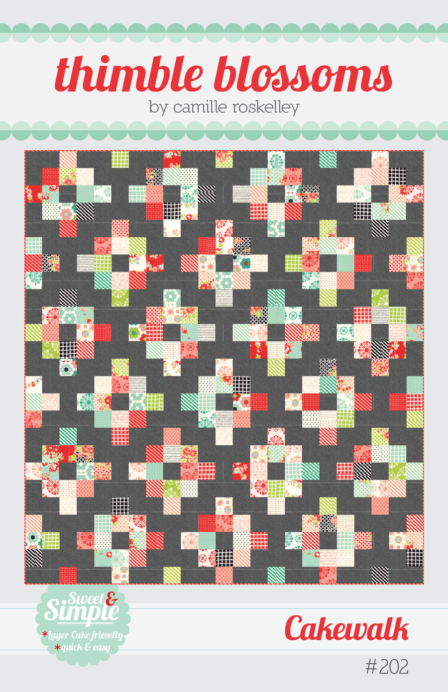 Image of Cakewalk - PDF pattern | quilts | Quilt patterns