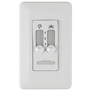 CW2 Wall Control by Fanimation Fans  #Fanimation #Home_Improvement