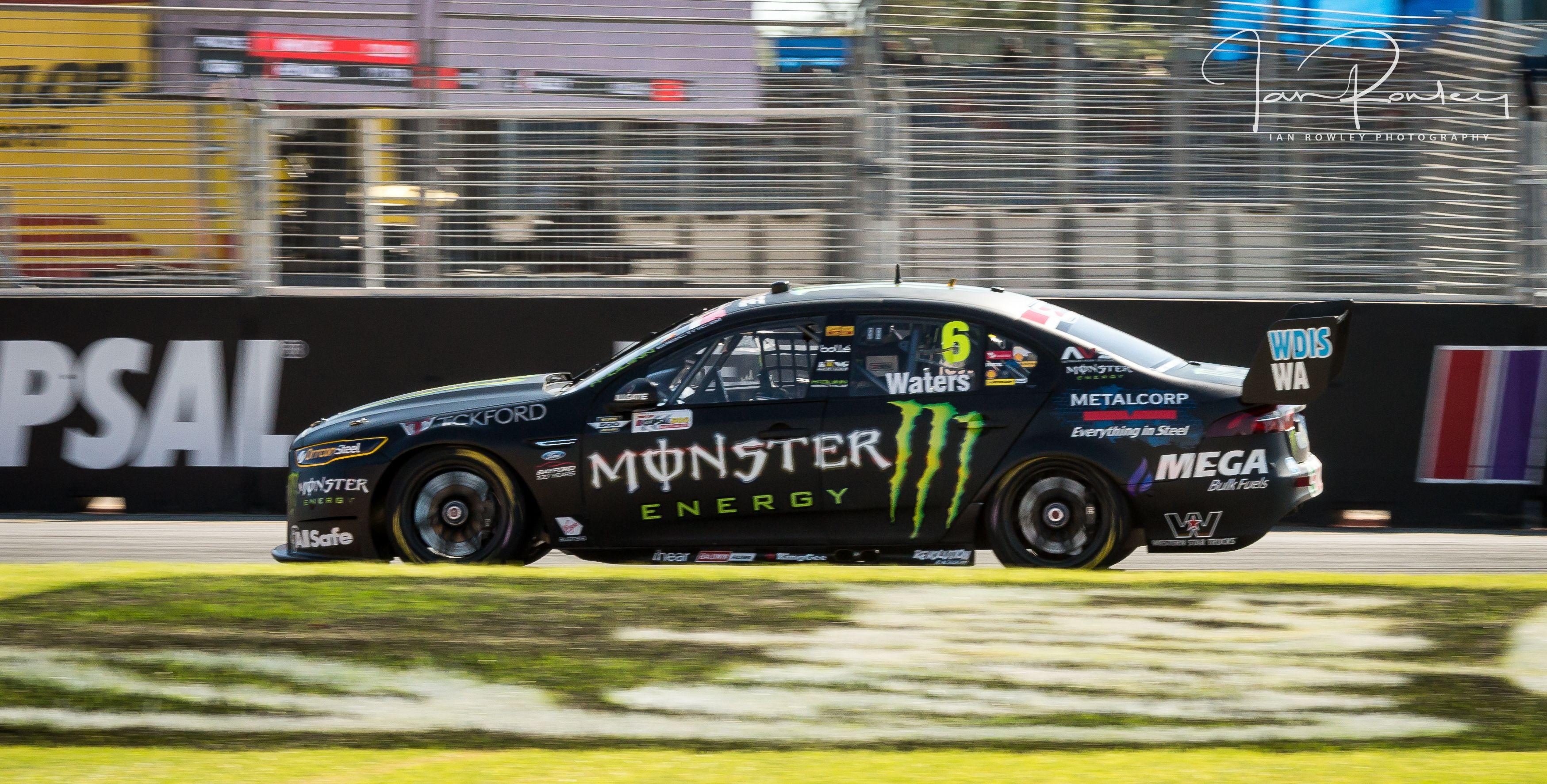 Cam Waters Monster Energy Racing Clipsal 500 2017 Australian V8 Supercars Racing Monster Energy