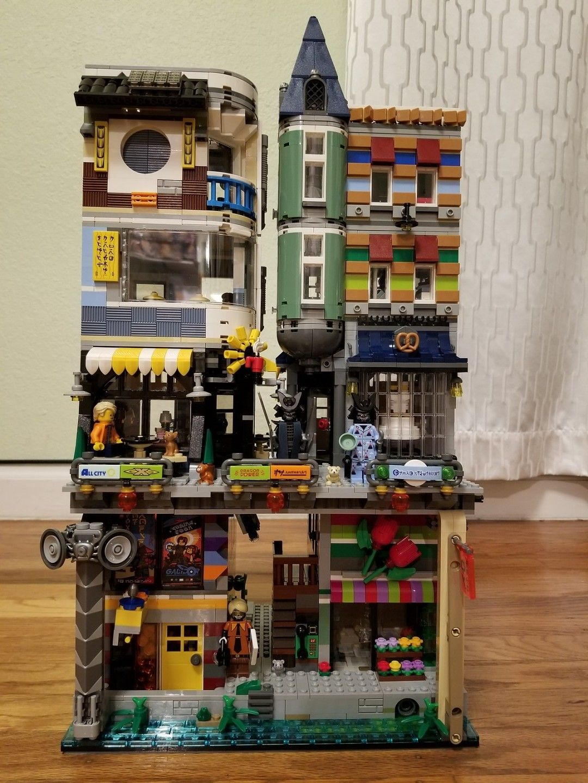 Ninjago City X Assembly Square X Skate House Moc Lego Ninjago City Cool Lego Creations Lego Projects