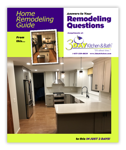 3 Day Kitchen Bath Remodeling Guide Kitchen And Bath Kitchen Remodel
