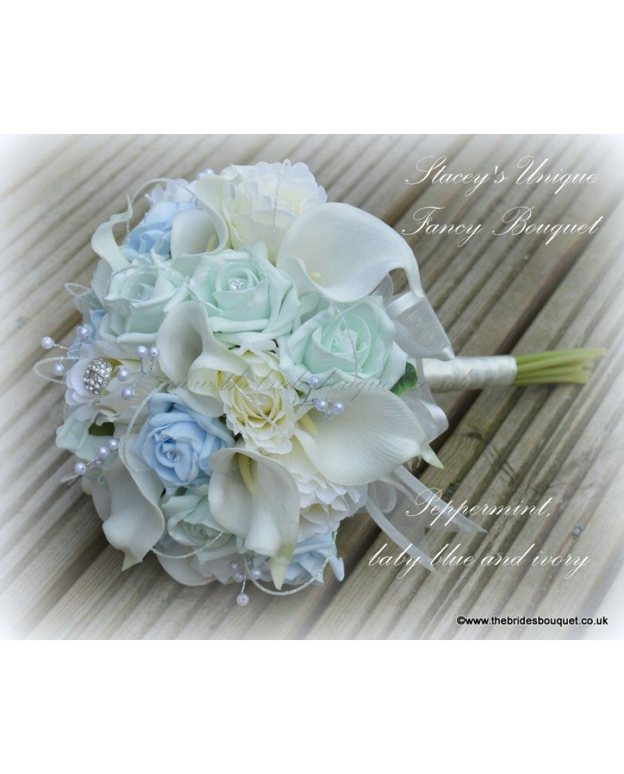 Fancy Brides Bouquet A Unique Mixed Flower Bouquet Created To Your