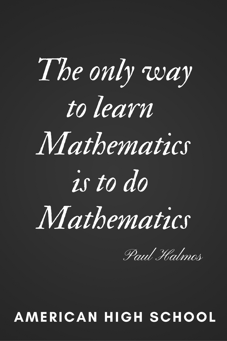 Mathematics | Online Middle School #onlinemiddleschool #math #quotes ...