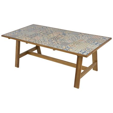 Leroy Merlin mesa de exterior, la vamos a usar en interior. | SALÓN ...