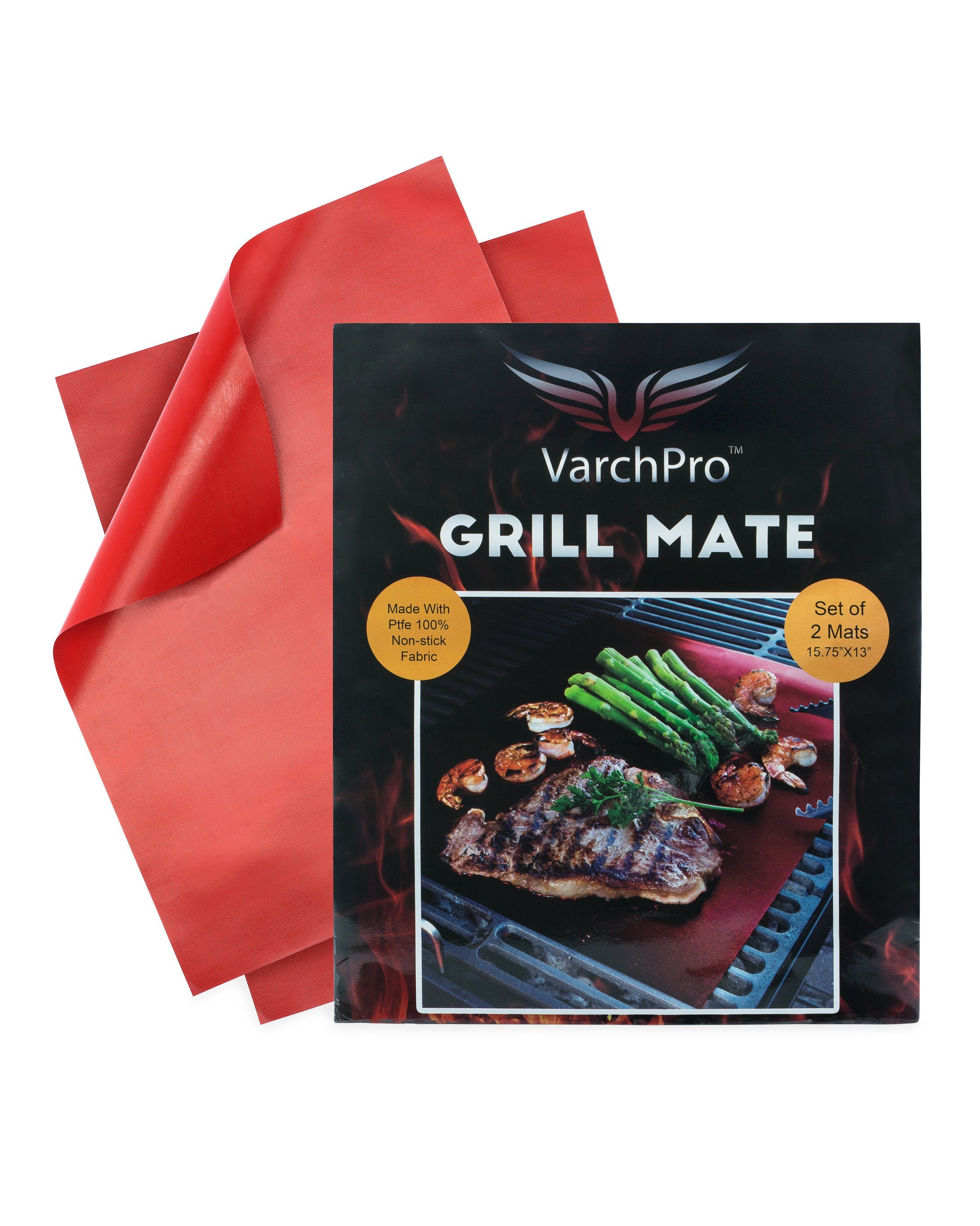 Grill Mats 100% NON-STICK VarchPro Grill Mats 100% NON