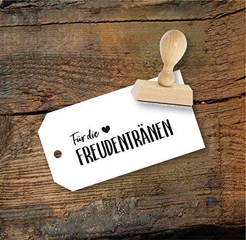Hochzeit Stempel Für Die Freudentränen Aus Buchenholz