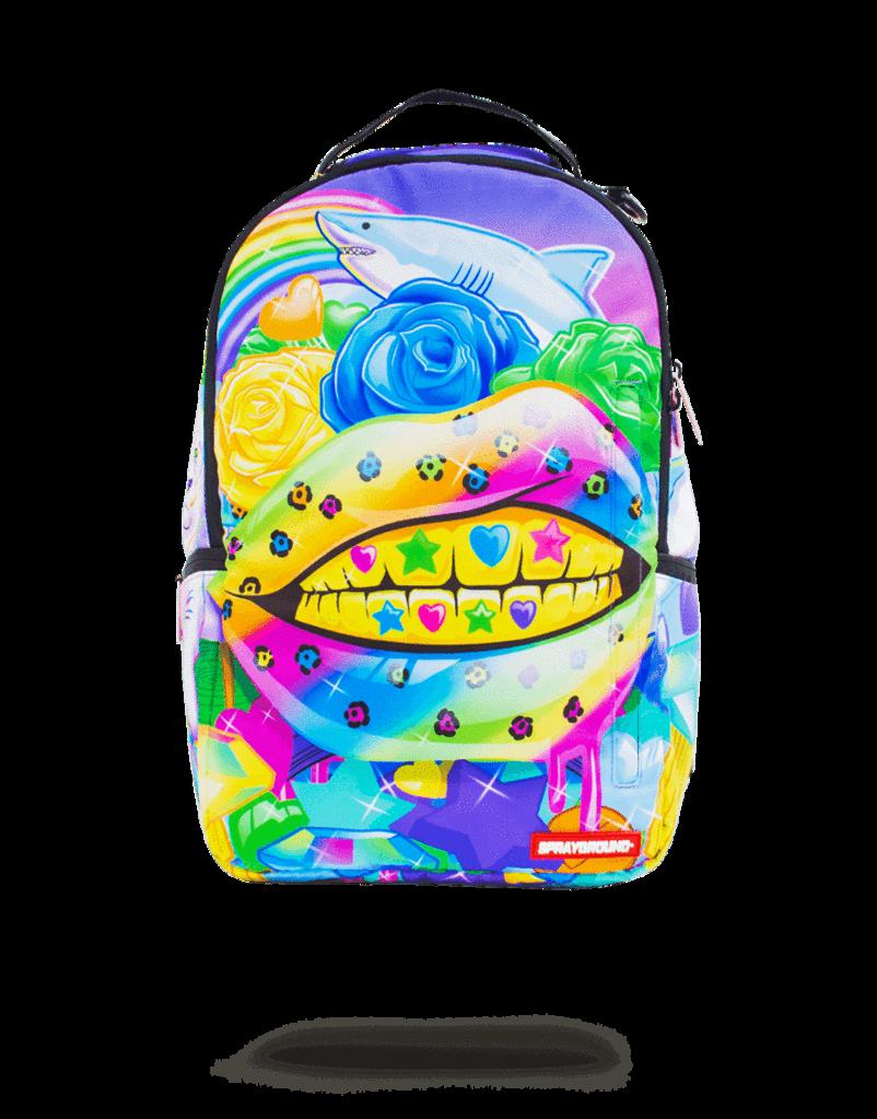 Sprayground Rainbow Life Bag Sprayground Sale Store Sprayground Bags Cool School Bags
