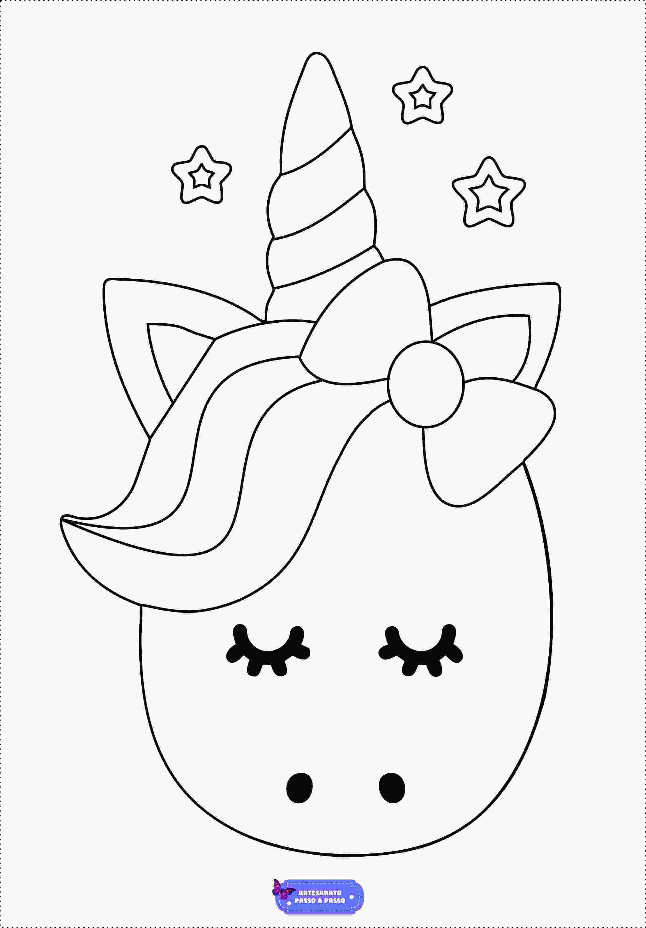 Desenhos De Unicornio Para Colorir Unicornio Para Colorir