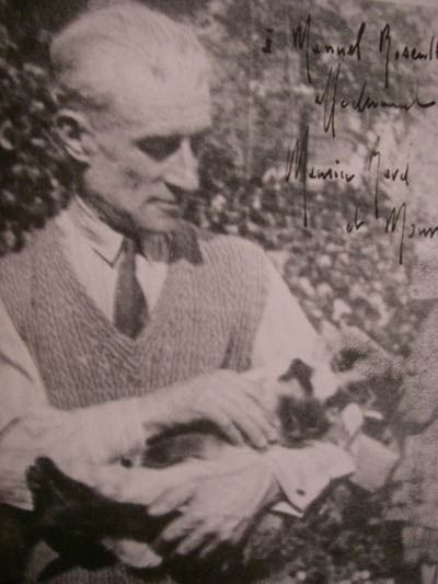 Maurice Ravel And His Cat Mouni Happy Birthday Maurice Ravel Classical Music Composers Classical Music Classical Musicians
