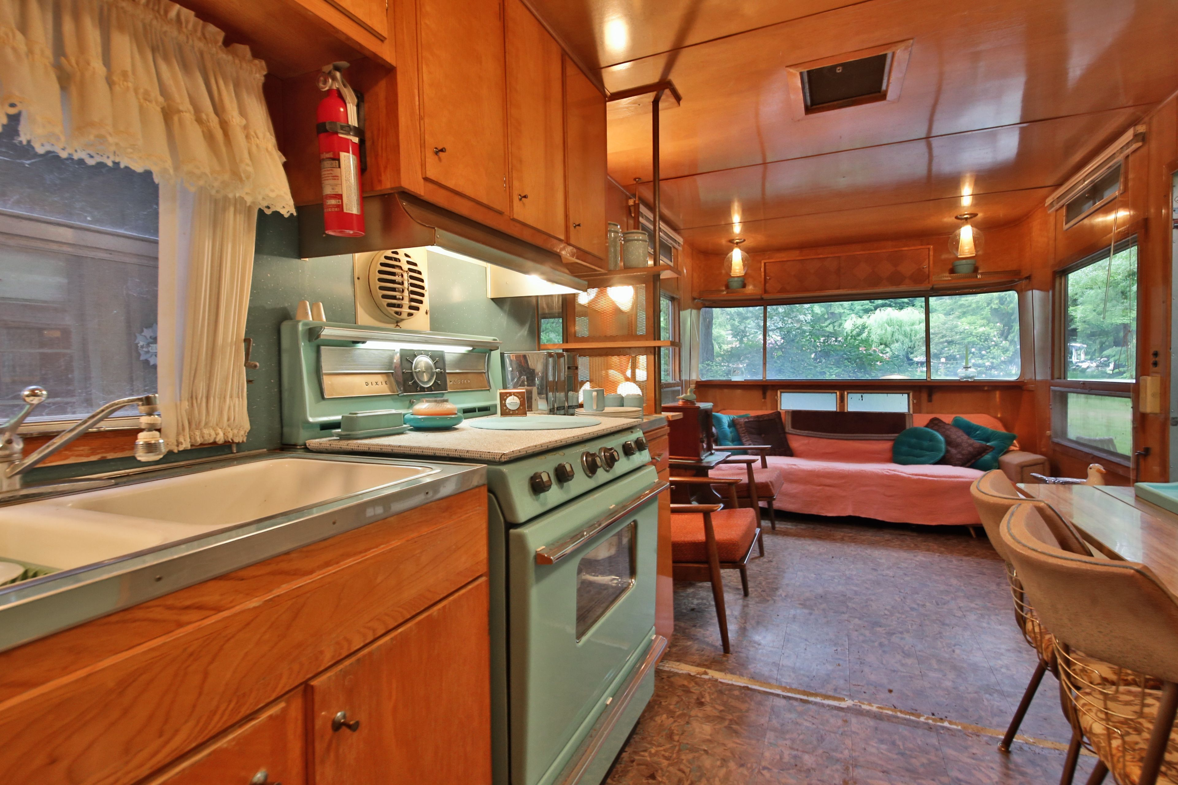 A Little Cabin And Trailer In The Whidbey Island Woods