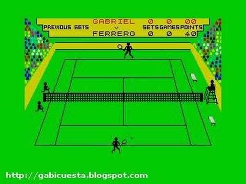 Match Point. El padre de cualquier juego de tenis que quieran ustedes imaginar.