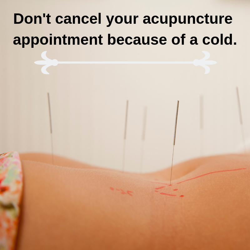 We want you to know that Acupuncture can help you recover ...