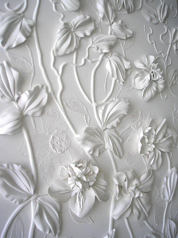 39 white panno 39 by olefir zoya an artist from ukraine who for White wallpaper for walls