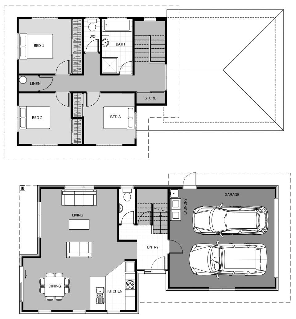 Chatham Floorplan 167m2 House Plans Simple Floor Plans Home Design Plans