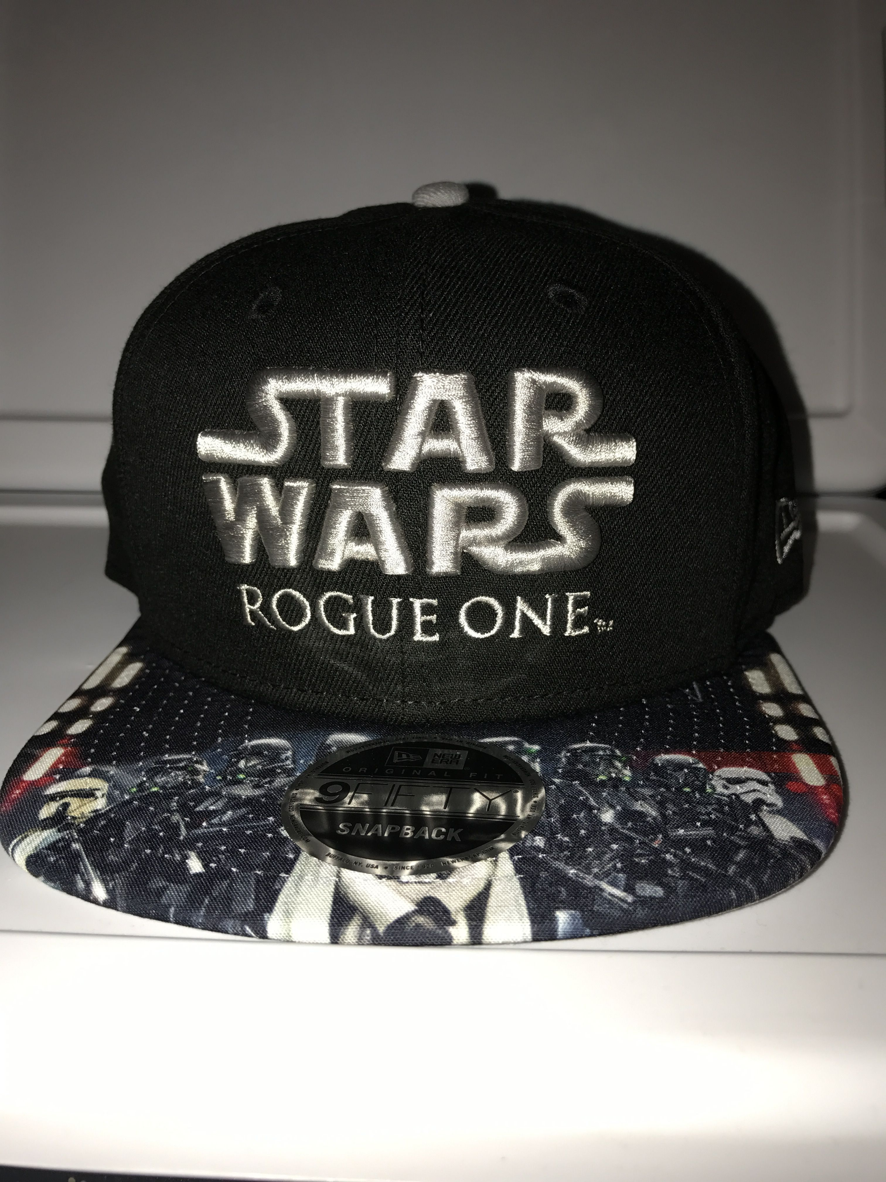 New Era Star Wars Rogue One Imperial Characters on brim 9FIFTY snapback 0022dcb4fe96