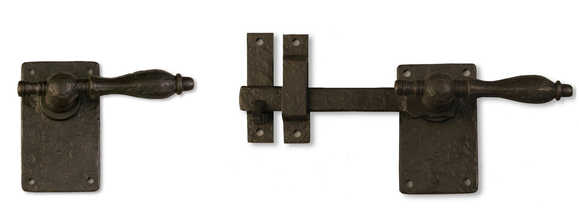 This Solid Cast Bronze Latch Pairs With An Simple And Straight