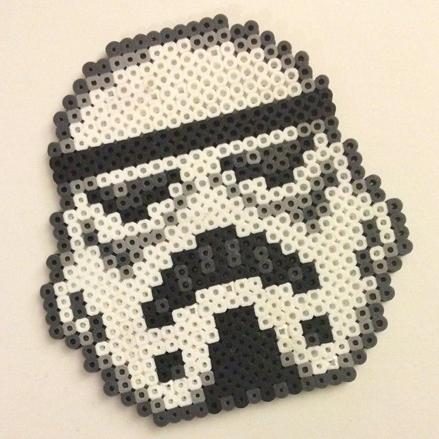 Stormtrooper - Star Wars hama beads by wordsfreeme | home creation ...