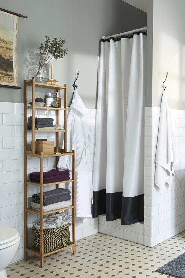 RÅGRUND Shelf unit, bamboo | Schöne bäder, Badezimmer und Schöner wohnen