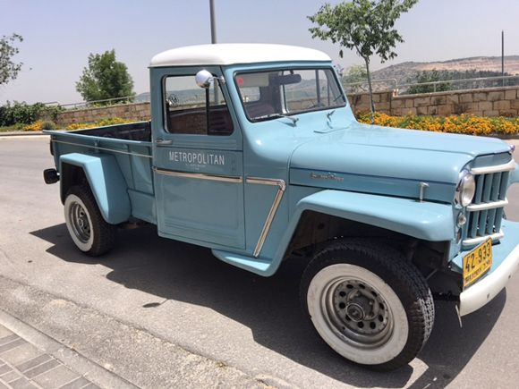1962 Willys Truck  Maintenance/restoration of old/vintage vehicles: the material for new cogs/casters/gears/pads could be cast polyamide which I (Cast polyamide) can produce. My contact: tatjana.alic@windowslive.com